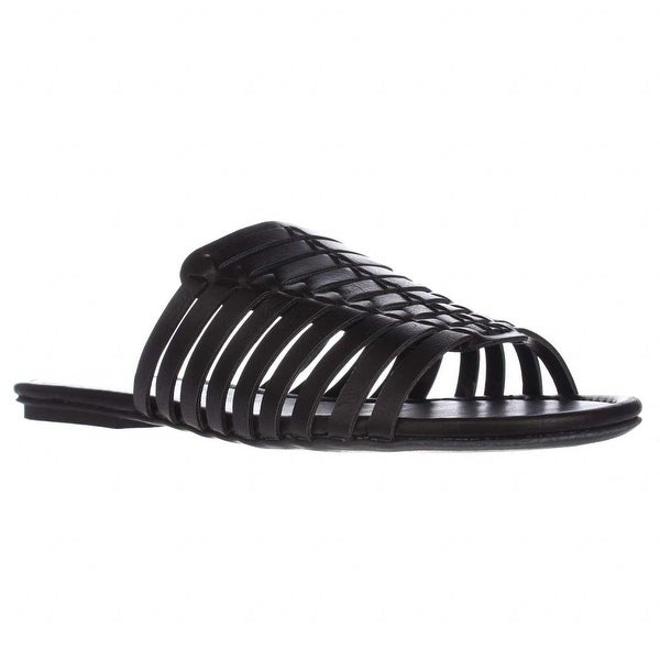 AR35 Paige Slides Sandals, Black
