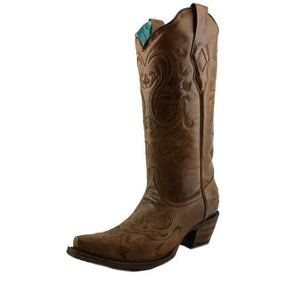 Corral A3309   Pointed Toe Leather  Western Boot