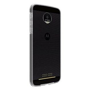 Verizon Two-Tone Bumper Case for Motorola Moto Z Force Droid - Clear