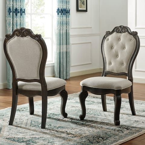 Gracewood Hollow Raymond Upholstered Side Chair - Set of 2