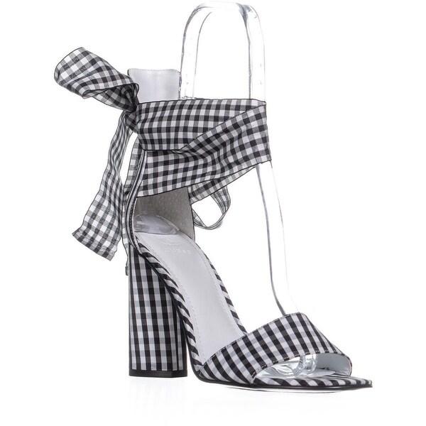 1cb1f78427edf Shop Guess Allison Lace Up Block Heel Sandals