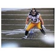 Signed Polamalu Troy Pittsburgh Steelers 11x14 Photo autographed