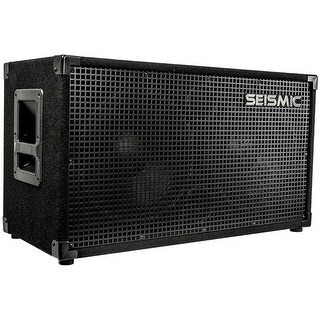 Seismic Audio 212 GUITAR SPEAKER CABINET~ 2x12 200 W. PA/DJ PRO AUDIO