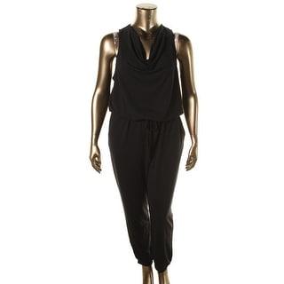 Halogen Womens Cowl Neck Racerback Jumpsuit - XL