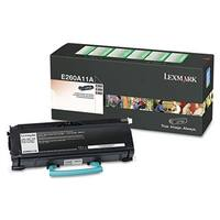 Lexmark E260A11A Toner  3500 Page-Yield  Black