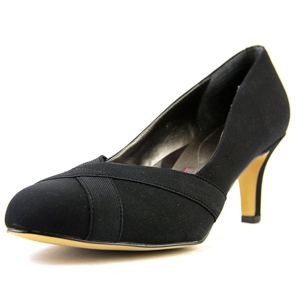 Ros Hommerson Jennifer Women Round Toe Synthetic Black Heels