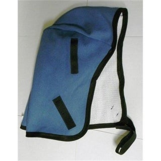 Helmet Liner with Chin Strap, Blue - Universal