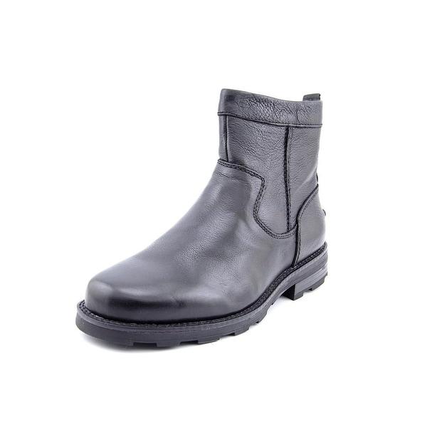 Florsheim Trektion Men Round Toe Leather Black Boot