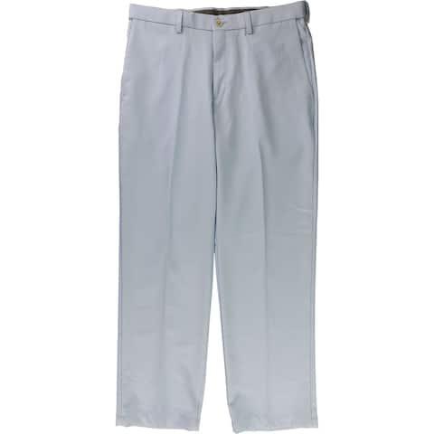 Haggar Mens Cool 18 Pro Casual Trouser Pants