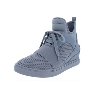 ee226941b17 Shop Steve Madden Womens Lexi Fashion Sneakers Neoprene Upper Hidden Wedge  - Free Shipping Today - Overstock - 25561628