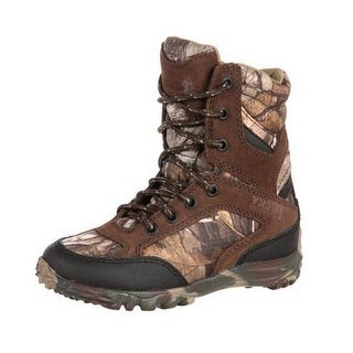 Rocky Outdoor Boots Boys Silenthunter WP Insulated Realtree