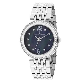 Christian Van Sant Women's Jasmine CV1611 Mother of Pearl Dial watch