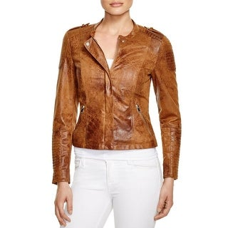 Vero Moda Womens Motorcycle Jacket Faux Suede Crop