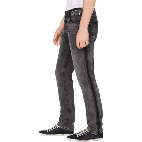 American Rag Mens Sterling Stripe Slim Fit Jeans