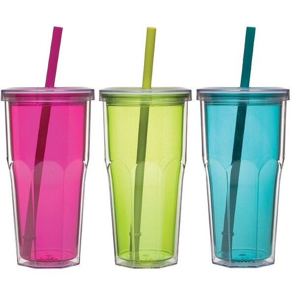 Aladdin 10-01205-111 To-Go Tumbler, 16 Oz, Assorted Colors