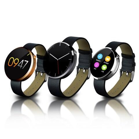 TechComm DM360 Water-resistant Smart Watch Pedometer Heart Rate for iPhones