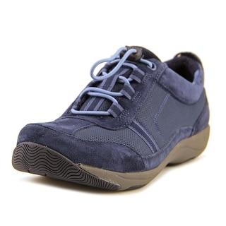 Dansko Helen Round Toe Suede Sneakers