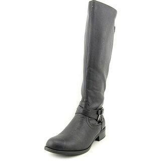 Call It Spring Mirilise Women Round Toe Synthetic Black Knee High Boot