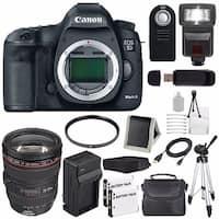 Canon EOD 5D III Digital Camera International Model + External Rapid Charger Bundle