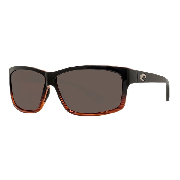 3deac576c022 Costa Del Mar Cut UT52OGP Coconut Fade Black 580P Gray Polarized Sunglasses  - coconut fade black