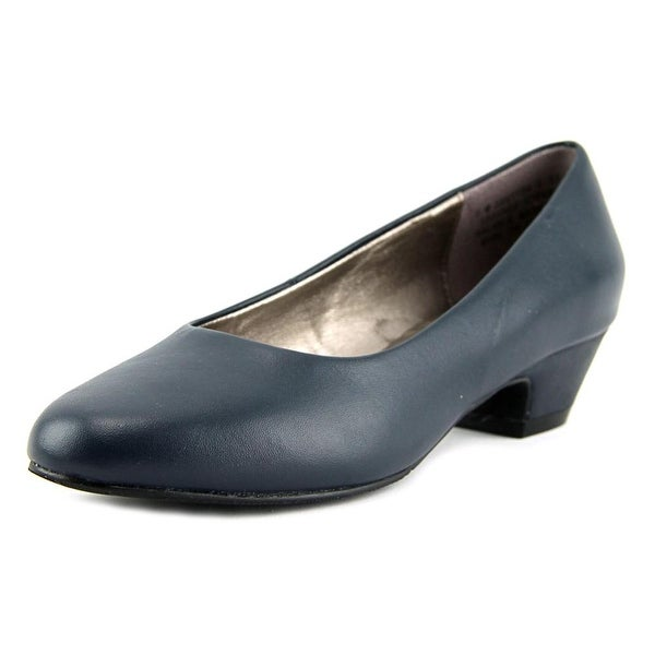 Array Lily Women Round Toe Leather Heels