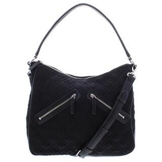 Vera Bradley Womens Vivian Hobo Handbag Quilted Tote - LARGE