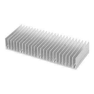 150 x 60 x 25mm LED Light Aluminium Heatsink Radiating Dissipation Cooling Fin