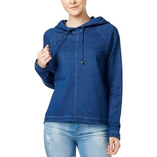Tommy Hilfiger Womens Hoodie V-Neck Knit - XS|https://ak1.ostkcdn.com/images/products/is/images/direct/ae618d5ce2bf31918e7c76b4374030d83a778313/Tommy-Hilfiger-Womens-Hoodie-V-Neck-Knit.jpg?impolicy=medium