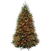 6.5 ft. Dunhill(R) Fir Tree with Multicolor Lights - green