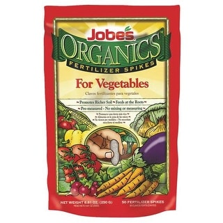 Easy Gardener 50Pk Organic Veg Spikes 06028 Unit: EACH