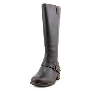 Ugg Australia Dahlen Round Toe Leather Knee High Boot