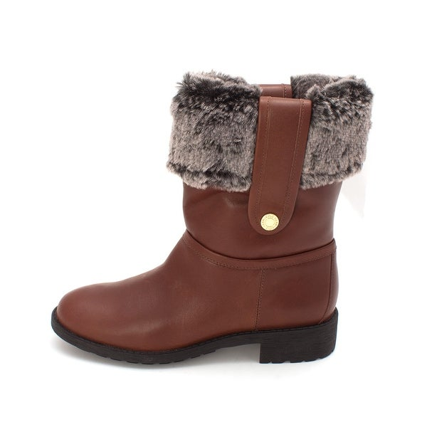 Cole Haan Womens Margiesam Closed Toe Mid-Calf Cold Weather Boots - 6