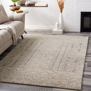 Link to Carson Carrington Saetterboel Handmade Wool Tribal Area Rug Similar Items in Transitional Rugs