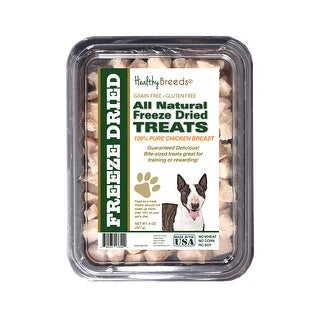 Healthy Breeds Miniature Bull Terrier Chicken Freeze Dried Treats