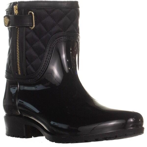fed94e05d Shop Tommy Hilfiger Francie Zip Up Mid Calf Rain Boots