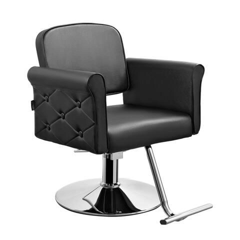 Salon Styling Chair Raelynn (Black) for Beauty Hair Salon Studio