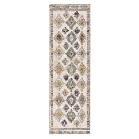 The Curated Nomad Lilah Tribal Indoor/ Outdoor Area Rug
