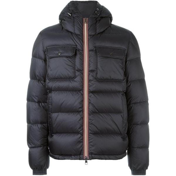 aba78c5a3191 Shop Moncler Men s Morane Black Down Puffer Coat 5 - Free Shipping ...