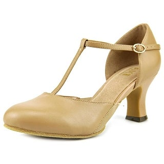 Bloch Splitflex Women Round Toe Leather Tan Dance