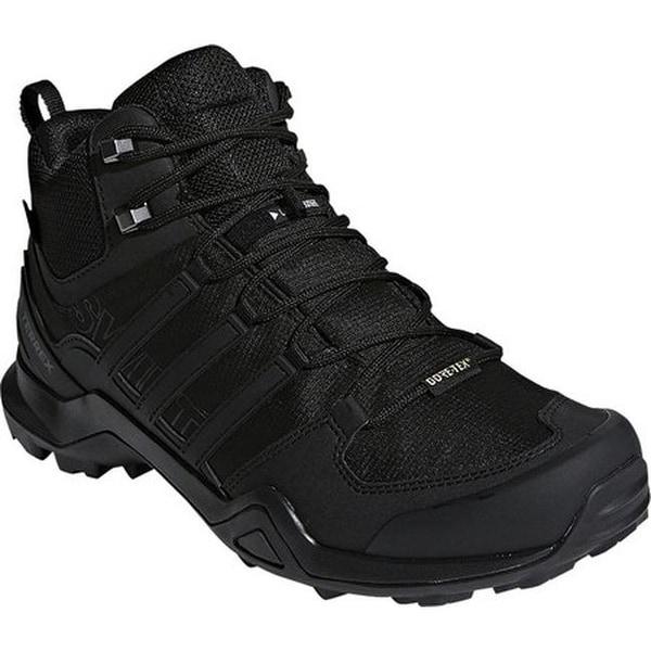 e51b12173 Shop adidas Men's Terrex Swift R2 Mid GORE-TEX Hiking Shoe Black ...