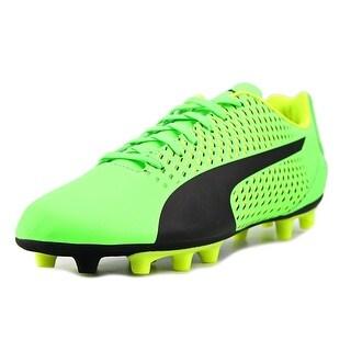 Puma Adreno III FG Men  Round Toe Synthetic Green Cleats