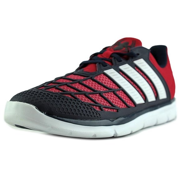 Adidas Disney Spider-Man K Round Toe Synthetic Running Shoe