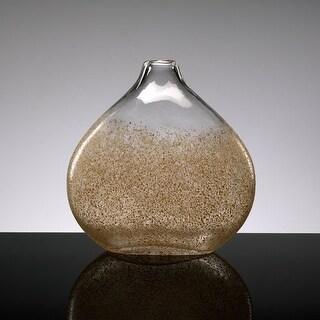 "Cyan Design 2175 12"" Large Russet Vase - russet and gold dust"