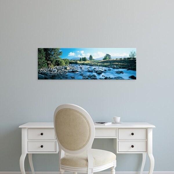 Easy Art Prints Panoramic Images's 'Mt Taranaki North Island New Zealand' Premium Canvas Art