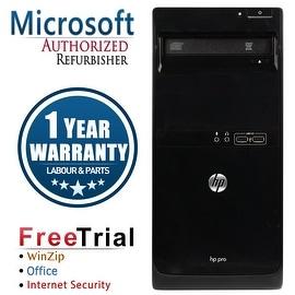 Refurbished HP Pro 3400 Tower Intel Core I3 2100 3.1G 4G DDR3 250G DVD Win 7 Pro 64 1 Year Warranty