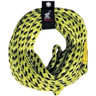 Airhead super strength 6000 lb tube tow rope 60 ft. 1-5 rider