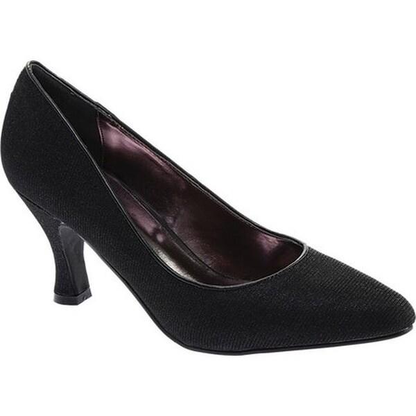 2656f547e9df Shop Bellini Women's Zoot Pump Black Glitter Fabric - Free Shipping ...