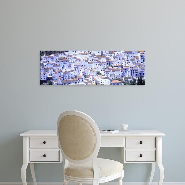 Easy Art Prints Panoramic Images's 'Casares, Andalucia, Spain' Premium Canvas Art