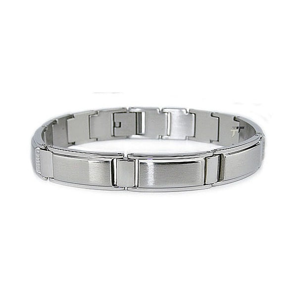 Stainless Steel Bracelet - 8.5 Inches