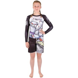 Tatami Kid's Robots MMA Fight Shorts